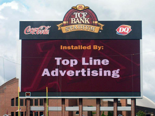 Top Line Billboard Sign