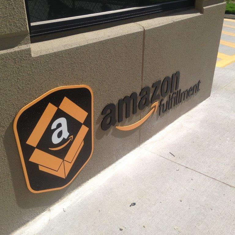 Amazon Fulfillment Sign