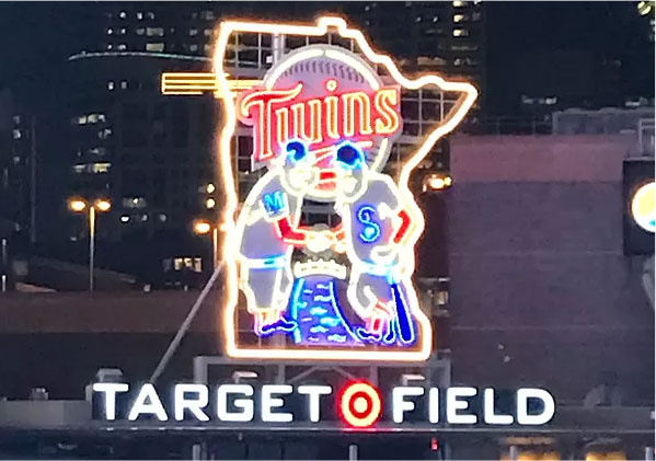 Twins Neon Sign