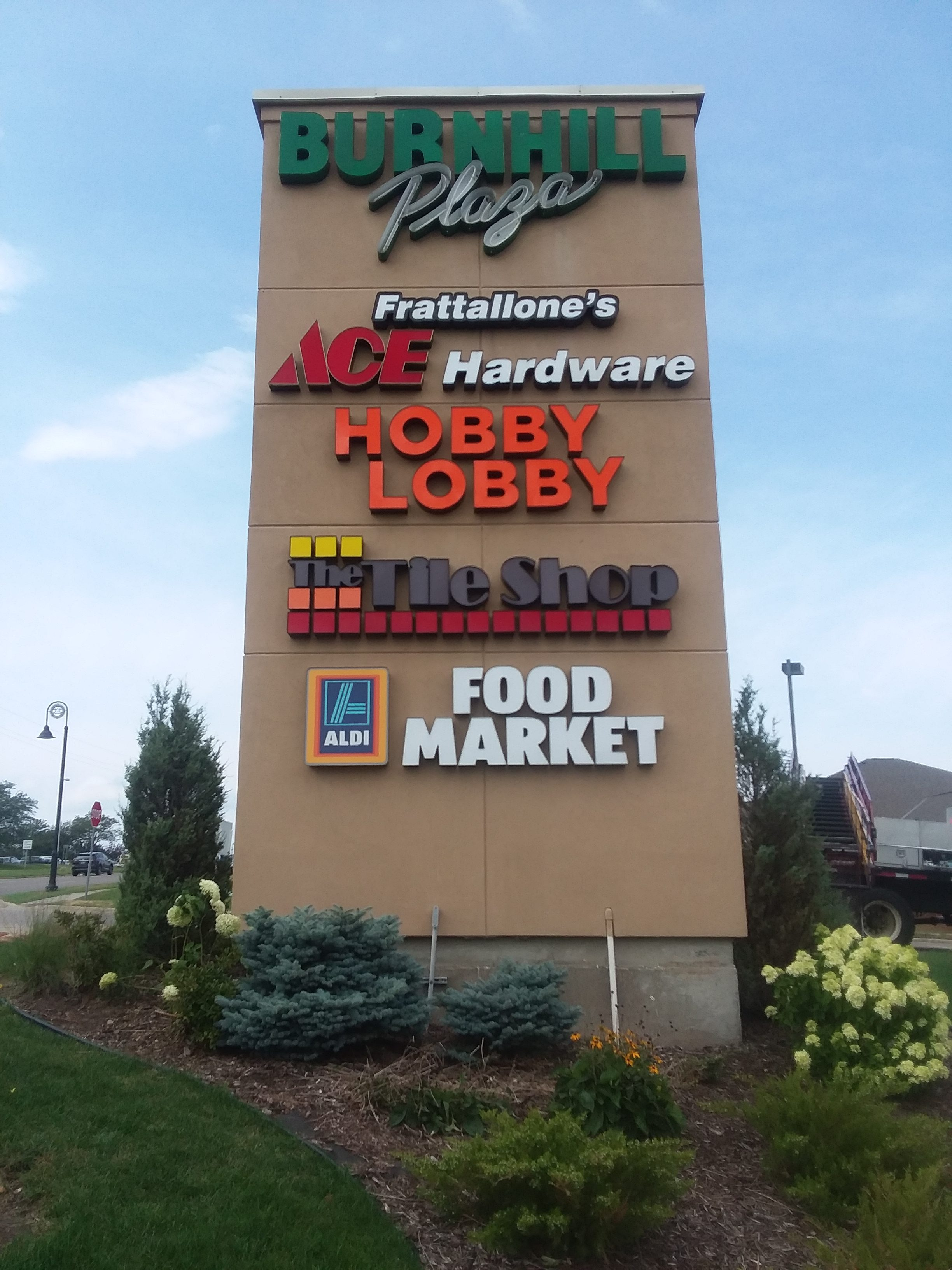 Mall Sign